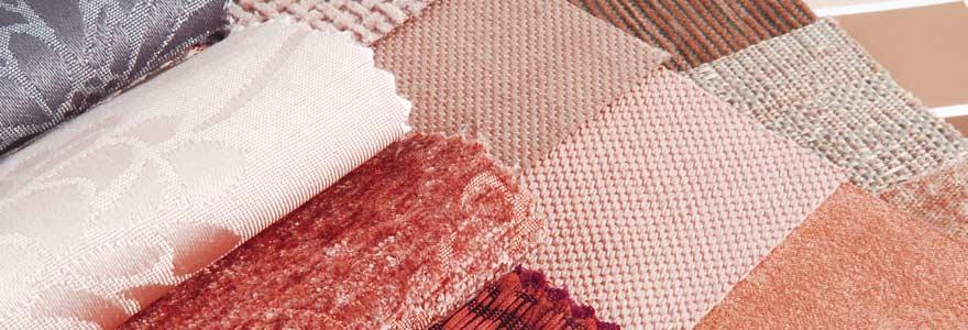 tissus en décoration